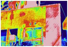 1. 赤外線センサー外壁浮き調査